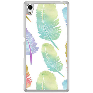 ifasho Animated  Feather Back Case Cover for Sony Xperia Z3 Plus