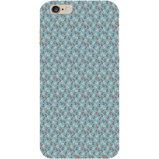ifasho Modern Art Design Pattern with Lot Of small anchor Back Case Cover for Apple iPhone 6S Plus