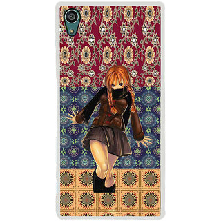 ifasho Dancing girl Back Case Cover for Sony Xperia Z5