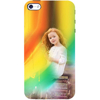 ifasho Girl playing Back Case Cover for Apple iPhone 5