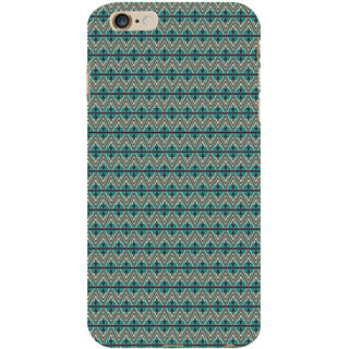 ifasho Animated Pattern of Chevron Arrows royal style Back Case Cover for Apple iPhone 6S Plus
