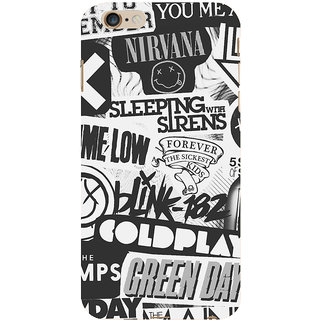 ifasho Animated Pattern colrful paper cuttings Back Case Cover for Apple iPhone 6S Plus