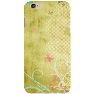 ifasho Animated Pattern colrful 3Daditional design cloth pattern Back Case Cover for Apple iPhone 6S Plus