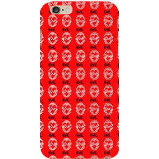 ifasho Animated Pattern With Love and heart Back Case Cover for Apple iPhone 6S Plus