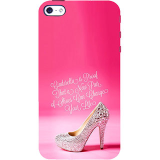 ifasho life changing quote Back Case Cover for Apple iPhone 5