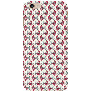 ifasho Modern Art Design Pattern Lot of fish Back Case Cover for Apple iPhone 6S Plus