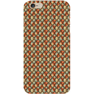 ifasho Animated Pattern With flower inside Circle  Back Case Cover for Apple iPhone 6S Plus