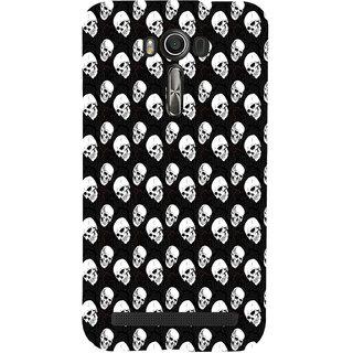 ifasho Modern  Design skeleton Pattern Back Case Cover for Asus Zenfone 2 Laser ZE601KL