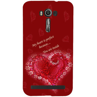 ifasho Love Quotes for love Back Case Cover for Asus Zenfone 2 Laser ZE601KL