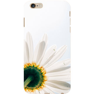ifasho Flower Design white flower in white background Back Case Cover for Apple iPhone 6S Plus