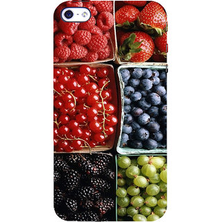 ifasho Fruits pattern Back Case Cover for Apple iPhone 5