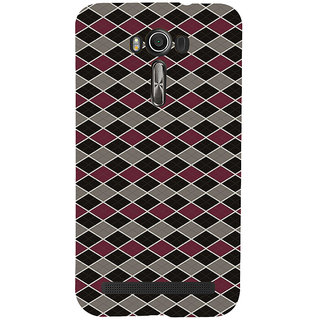ifasho Animated Pattern of Chevron Arrows royal style Back Case Cover for Asus Zenfone 2 Laser ZE601KL