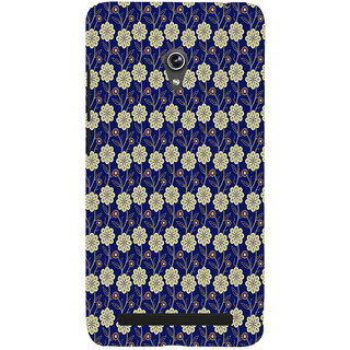 ifasho Animated Pattern design colorful flower in royal style Back Case Cover for Asus Zenfone 5