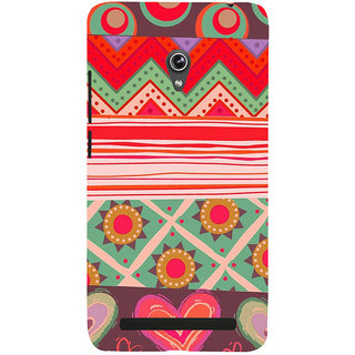 ifasho Animated Pattern colrful 3Dibal design Back Case Cover for Asus Zenfone 5