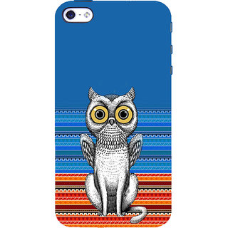 ifasho ModernBird and Owl Pattern Back Case Cover for Apple iPhone 5