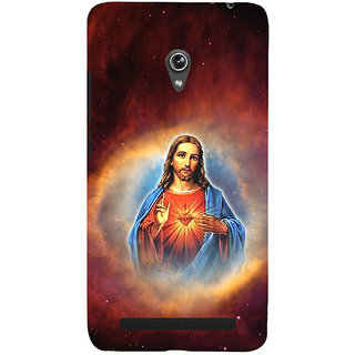 ifasho Jesus christ  Back Case Cover for Asus Zenfone 5