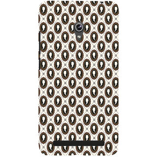 ifasho Animated  Royal design with Queen head pattern Back Case Cover for Asus Zenfone 5