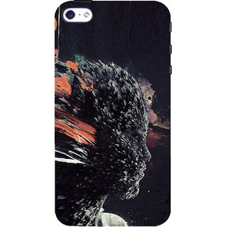 ifasho Girl animation face Back Case Cover for Apple iPhone 5