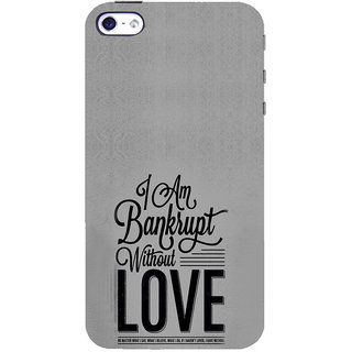 ifasho Love Quotes Back Case Cover for Apple iPhone 5