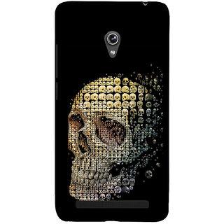 ifasho Modern  Design animated skeleton Back Case Cover for Asus Zenfone 5
