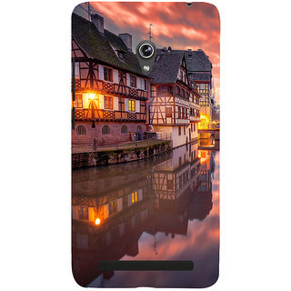 ifasho Venice City Back Case Cover for Asus Zenfone 5