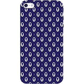ifasho Animated  Royal design with Queen head pattern Back Case Cover for Apple iPhone 5