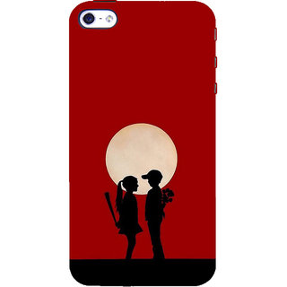 ifasho Boy and girl love Back Case Cover for Apple iPhone 5