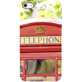 ifasho Telephone booth  Back Case Cover for Apple iPhone 5