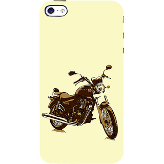 ifasho Royal Bike Back Case Cover for Apple iPhone 5