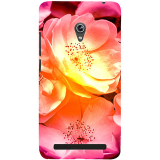 ifasho Flowers Back Case Cover for Asus Zenfone 5