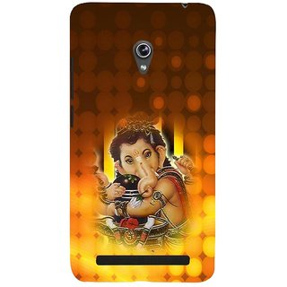 ifasho Lord Ganesha with linga Back Case Cover for Asus Zenfone 5