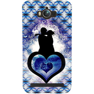 ifasho couple kissing Back Case Cover for Asus Zenfone Max