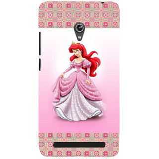 ifasho Princess Back Case Cover for Asus Zenfone 5