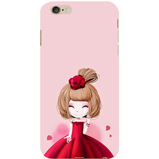 ifasho Princess Girl Back Case Cover for Apple iPhone 6S Plus