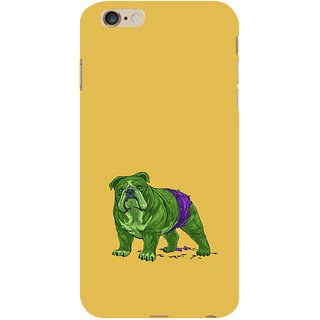 ifasho Animated Design Dog Back Case Cover for Apple iPhone 6S Plus