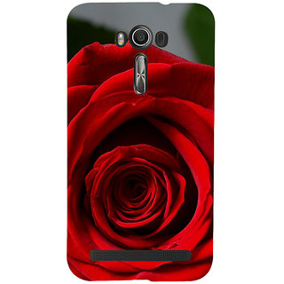 ifasho Red Rose Back Case Cover for Asus Zenfone 2 Laser ZE601KL