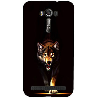 ifasho Angry Wolf Back Case Cover for Asus Zenfone 2 Laser ZE601KL