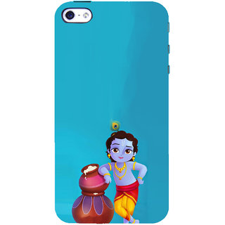 ifasho Lord Krishna stealing curd animated Back Case Cover for Apple iPhone 5