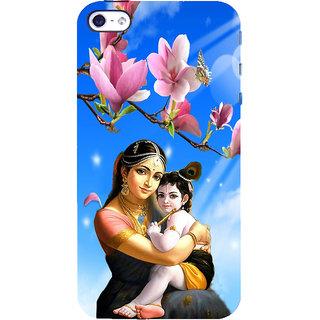 ifasho Yasoda krishna Back Case Cover for Apple iPhone 5