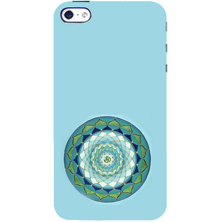 ifasho Modern Art Om design pattern in kundli Back Case Cover for Apple iPhone 5