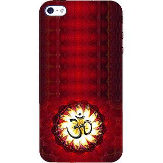 ifasho Modern Art Om design pattern Back Case Cover for Apple iPhone 5