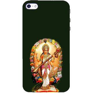 ifasho Goddess Saraswati  Back Case Cover for Apple iPhone 5