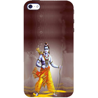 ifasho Lord Rama Back Case Cover for Apple iPhone 5