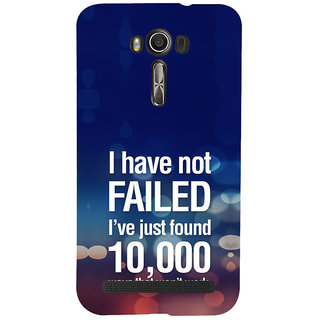 ifasho quotes on success Back Case Cover for Asus Zenfone 2 Laser ZE601KL