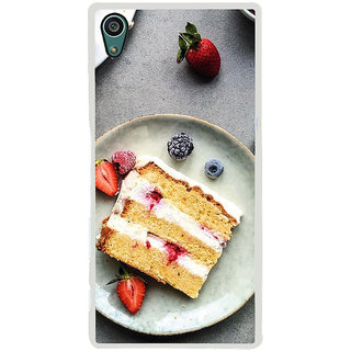 ifasho Animated food pattern Back Case Cover for Sony Xperia Z5