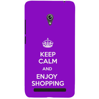 ifasho Nice Quote On Keep Calm Back Case Cover for Asus Zenfone 6