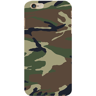 ifasho Army dress pattern Back Case Cover for Apple iPhone 6S Plus