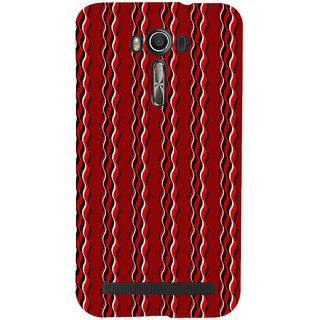 ifasho Design lines pattern Back Case Cover for Asus Zenfone 2 Laser ZE601KL