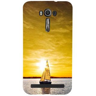 ifasho Boating at sunset Back Case Cover for Asus Zenfone 2 Laser ZE601KL