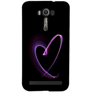 ifasho Modern Art Design heart animated Back Case Cover for Asus Zenfone 2 Laser ZE601KL